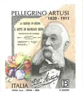 Pellegrino Artusi francobollo